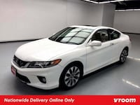 2015 Honda Accord Coupe White coupe New York