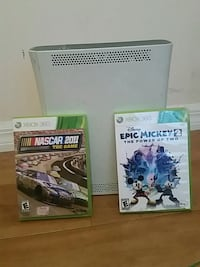 Xbox 360 with games  Tampa, 33647
