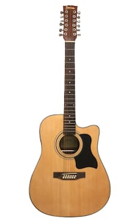12 string acoustic electric guitar brand new Vaughan