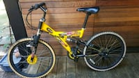 yellow and black full-suspension bike Vancouver, V6E