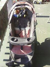baby's gray and pink stroller New Providence, 17560