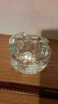 4 piece glass candleholder  London, N6B 1E1