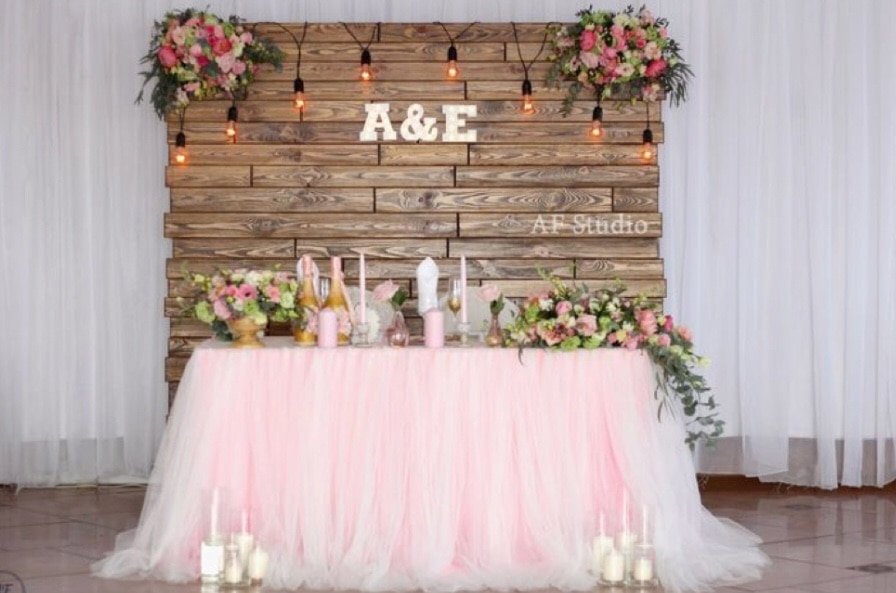 used wedding backdrop and sweetheart table rental for sale in rh us letgo com