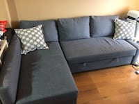 gray fabric sofa/sofa bed  Rockville, 20850