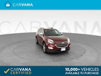 2017 Chevy Chevrolet Equinox suv Premier Sport Utility 4D Red Brentwood