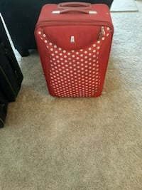 Red Polka Dot Suitcase