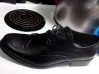pair of black leather dress shoes Abbotsford, V2S 2A6
