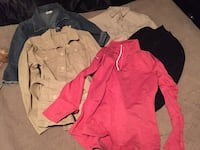 Size large jackets and top Calgary, T2Y 4R3