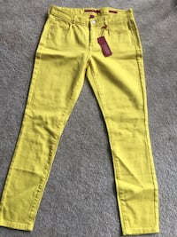 Yellow denim jeans Los Angeles, 90032