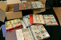 buying Vintage 1950's-60's vintage sports cards, T Stockton, 95203