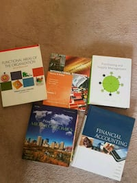 four assorted books and books Kitchener, N2N