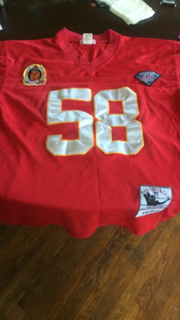 detailed look c3e93 ca9b5 Kansas City chiefs mitchell & Ness D. thomas throwback nfl jersey 1994