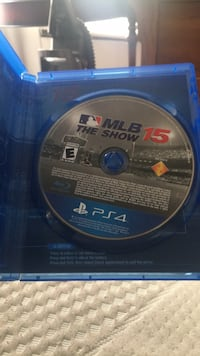 Sony ps4 MLB the show 15 disc Brooklyn, 21225