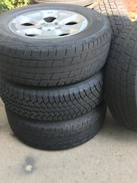 2014 Jeep wrangler rims and tires South Park Township