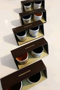 5 sets of Starbucks demitasse Vancouver, V6Z 2N2