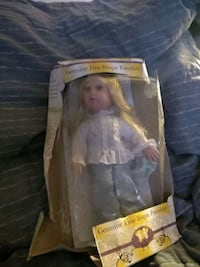 two white and purple dressed doll in box Elizabethton, 37643