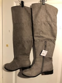 Over the knee boots, with tags size 108 Toronto, M3M 1W4