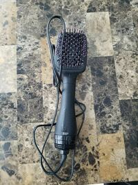 black and pink corded electronic hair brush Vancouver, V6B 0E4