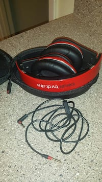 red and black beats by dr. dre