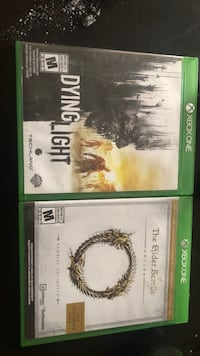 two Xbox One game cases Edmonton, T6E 3T3