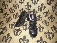 pair of black leather snake skin print open-toe an Port St. Lucie, 34952