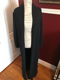 Ladies maxi sweater size small