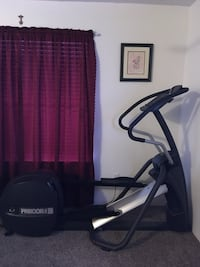 Black and gray elliptical trainer Houston, 77084