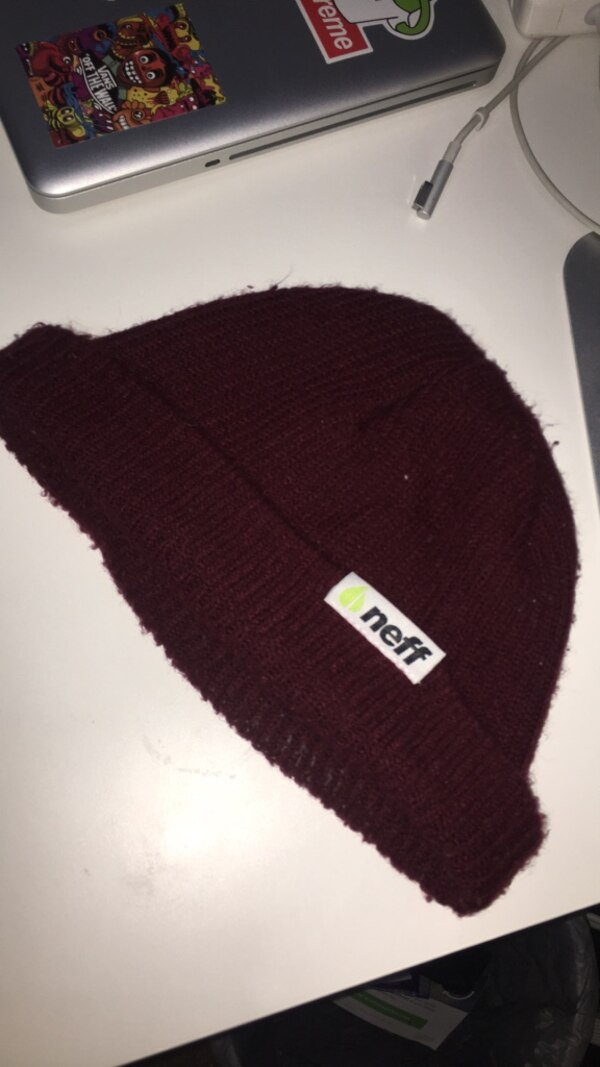 d4af2215 Used Neff Maroon Beanie for sale in Burnaby - letgo