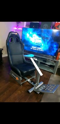 Playseat evolution racing seat with stand