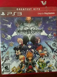 Sony PS3 Kingdom Hearts game case London, N6A 3N7