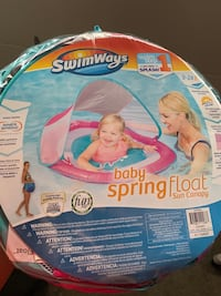 SwimWays Baby Float + Sun Canopy (Brand New/Pink) Milpitas, 95035