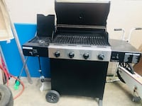 Black and gray propane  grill bbq they paid $380 plus tax just about 5 month ago now they are asking $300 or best offer  St Catharines, L2R 5Z3