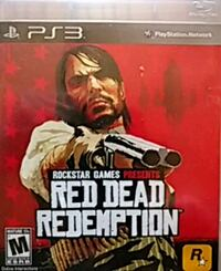 Sony PS3 Red Dead Redemption game case Pittsburgh, 15223