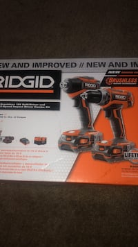 MUST GO!!! BRUSHLESS 18V DRILL DRIVER & 3SPEED IMPACT DRIVER NEVER USED MUST GO!!!!! $120 $120 $120 $120 $120 $120 $120 $120 $120
