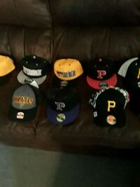 Several brand new Pirates and Steelers hats East Liverpool, 43920