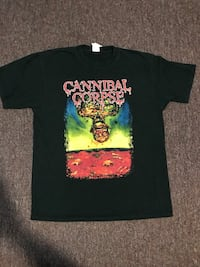 Canibal corpse shirt size large Vancouver