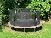 gray and black outdoor trampoline Saddle River, 07458