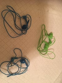 Ear phones. Green ones brand new. All for 1.00. All work  San Diego, 92110