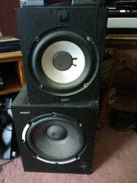 300 Watts Sony subwoofers $175