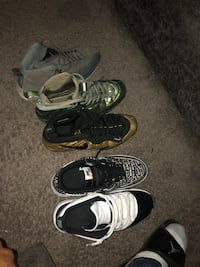 Jordan's and foams and Nike ones all must go  Buffalo, 14211