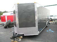 VNOSE ENCLOSED TRAILERS NEW 20FT 24FT 28FT 32FT RACE CAR TRUCK ATV SLE