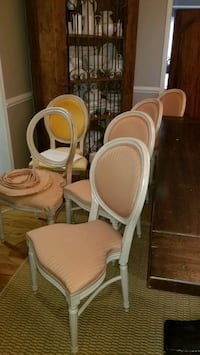 Six- 6 dining room Chairs -$70 -  DIY Project  Burke, 22015
