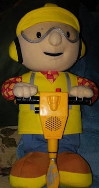 Hasbro Bob The Builder - Jackhammer Bob Plush Arlington, 22205