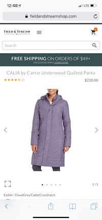 Call is by Carrie Underwood Quilted Parka Chesapeake, 23320