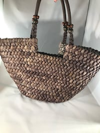 Basket-like shoulder bag (beachy) Centreville, 20121