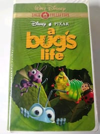 A Bugs Life Gold Collection vhs