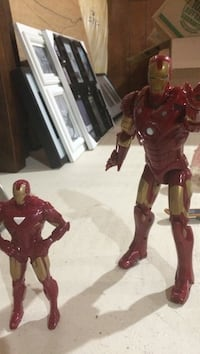 Two Ironman action toy figures Oshawa, L1L 0B1