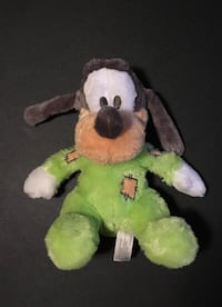 Baby Goofy Disney World Rattle Plush Toy Caledon