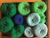 Lot of pastel green baby blue  Mexican yarn Brentwood, 94513