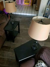 Set of endtables 65 and lamps 10 Las Vegas, 89120